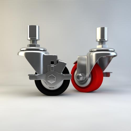 万向轮 滑轮模型3DMAX C4D