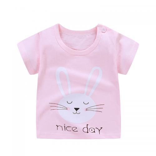 2020新款女童装T恤儿童短袖