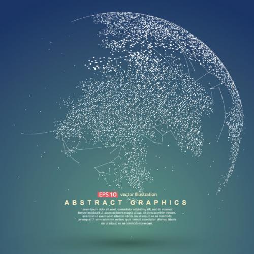 科技 地球 EPS