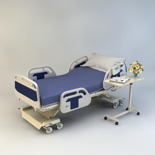 医院 病床 3DMAX C4D