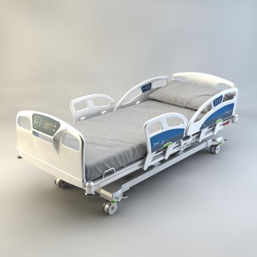 住院 病床 3DMAX C4D