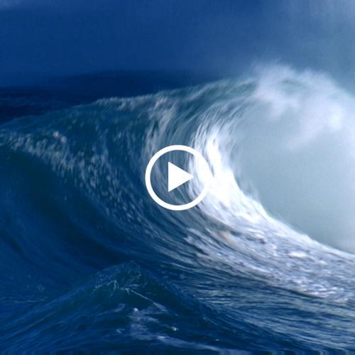 实拍 海浪 巨浪 MP4