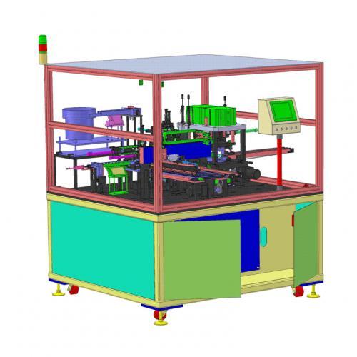 工业机械设计电感器自动组装机