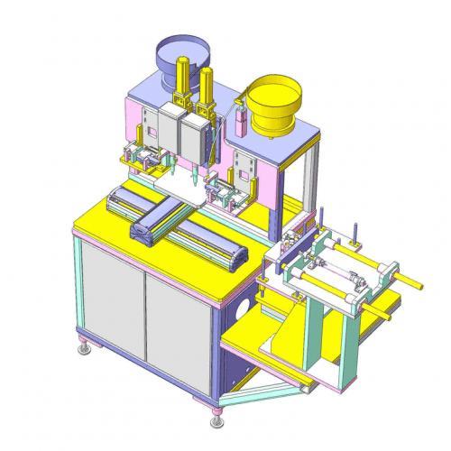 工业机械设计放钉机SW