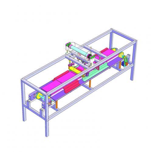 工业机械设计覆膜机SW