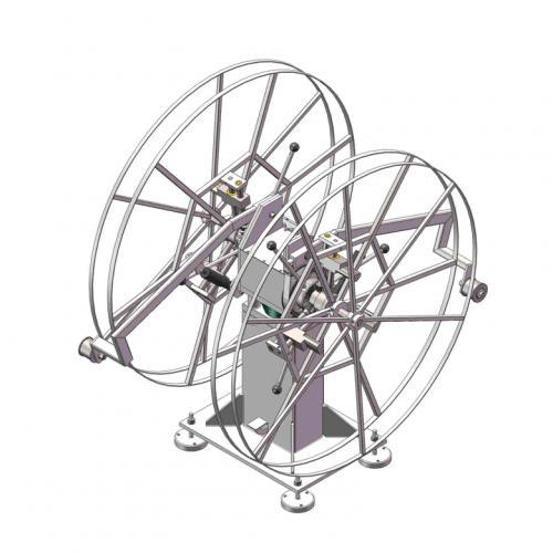 工业机械设计钢铝带自张力开卷机SW