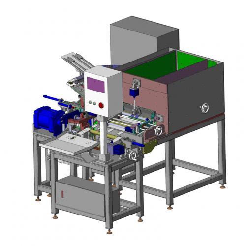 工业机械设计滚筒底阀压装设备SW