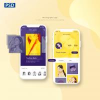 小程序 APP UI 交互设计模板PSD