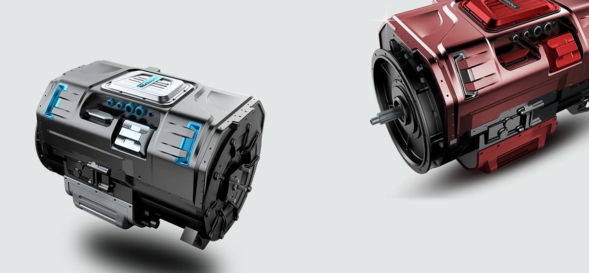 混合动力发动机设计